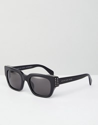 Marc By Marc Jacobs Chunky Square Lens Sunglasses Black