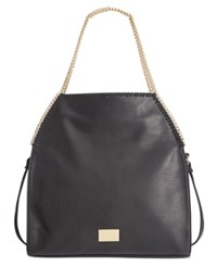 Inc International Concepts Kadi Foldover Tote Only At Macy's Black