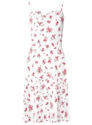 Dorothy Perkins Tall Ivory Ditsy Ruched Camisole Dress White