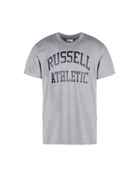 Russell Athletic T Shirts Grey