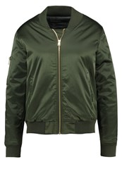 Soaked In Luxury Bomber Jacket Army Khaki