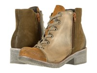 Naot Footwear Groovy Desert Suede Vintage Gray Leather Mulberry Suede Women's Boots Brown