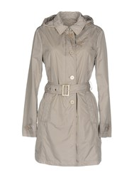 Jan Mayen Coats And Jackets Overcoats Light Grey