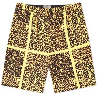 Cav Empt Noise C2 Printed Short Yellow