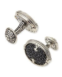 Pave Spinel Cuff Links Konstantino