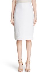 St. John Women's Collection Clair Knit Pencil Skirt