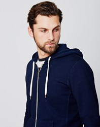 Levi's Original Zip Up Hoodie Navy