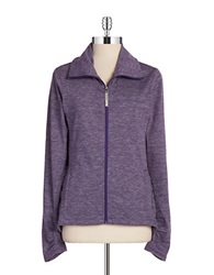 Bench Gathered Cowlneck Jacket Purple