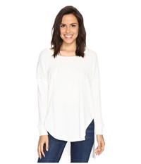 Culture Phit Luca Long Sleeve Thermal Top Off White Women's Clothing