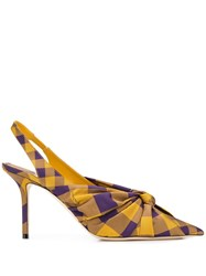 Jimmy Choo Anabel Pumps Yellow