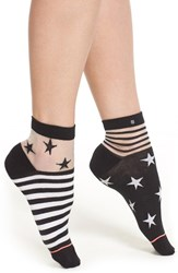 Women's Stance 'Gothic Star' Illusion Ankle Socks