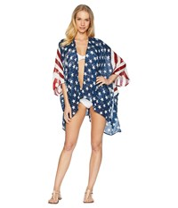 Collection Xiix American Wonder Cover Up Red White Blue Clothing Multi
