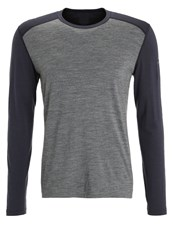 Icebreaker Sports Shirt Gritstone Heather Grey