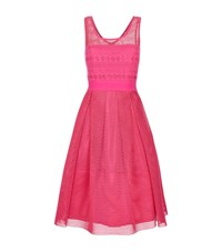 Pinko Macrame Skater Dress Female
