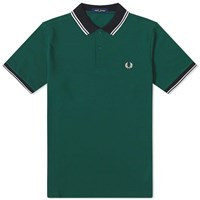 Fred Perry Contrast Trim Polo Green