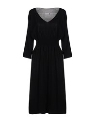 Lorena Antoniazzi Knee Length Dresses Black