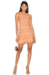 Keepsake The Moment Lace Dress Peach