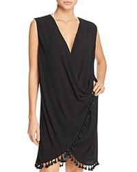 Athena Bazaar Beauty Wrap Swim Cover Up Black