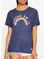 Wildfox Couture Where Am I T Shirt Navy