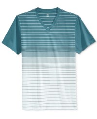 Inc International Concepts Men's Mana Stripe T Shirt Only At Macy's Mallard