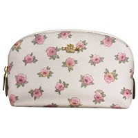 Coach Printed Canvas Cosmetic Case 17 Chalk Multi