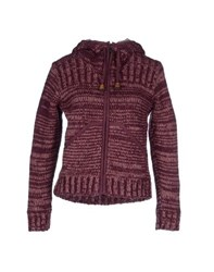 Komodo Knitwear Cardigans Women Purple
