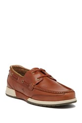 Tommy Bahama Ashore Leather Boat Shoe Brown
