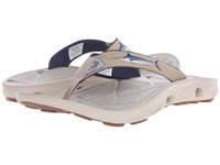 Columbia Techsun Vent Fishflip Pfg British Tan Marlin Men's Toe Open Shoes Brown
