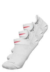 Nike Performance Drifit Lightweight Noshow Tab 3 Pack Sports Socks White