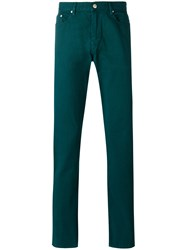 Paul Smith Ps By Straight Leg Jeans Green