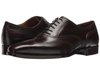 Gravati Wingtip Oxford Black Cherry Men's Lace Up Wing Tip Shoes Burgundy