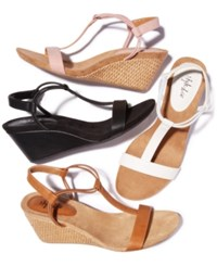Styleandco. Style Co Mulan Wedge Sandals Created For Macy's Coffee