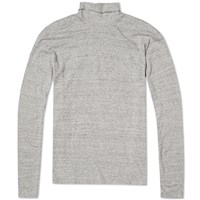 Nonnative Long Sleeve Dweller Turtle Tee Grey