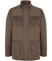 Austin Reed Brown Rush Wash Jacket
