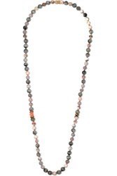 Carolina Bucci Recharmed 18 Karat Gold Multi Stone Necklace Neutral