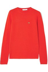 Bella Freud Cashmere Sweater Red