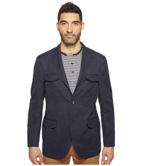 Kroon Hozier Three Button Hybrid Blazer Navy Men's Coat