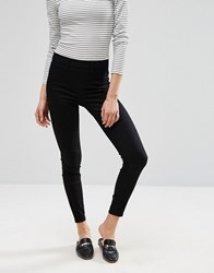 New Look High Waisted Jeggings Black