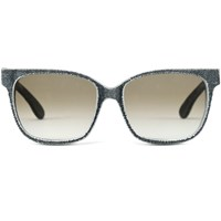 Mosevic Solid Denim Unisex Sunglasses Frensel Stone Black
