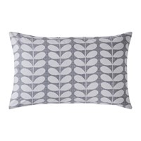 Orla Kiely Placement Scribble Stem Pillowcase Set Of 2 Pebble