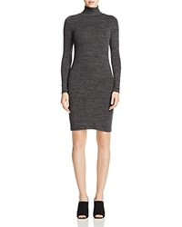 French Connection Sweeter Sweater Mini Dress Charcoal Black
