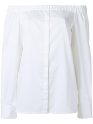 Andrea Marques Off Shoulder Blouse White
