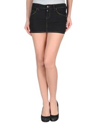 Paul Frank Mini Skirts Black