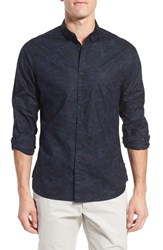 Men's French Connection 'Lawson' Trim Fit Long Sleeve Sport Shirt