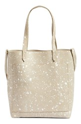 Madewell Medium Transport Splatter Paint Edition Leather Tote