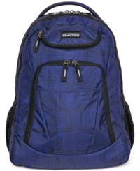 Kenneth Cole Reaction Tribute Backpack In Griddle Blue