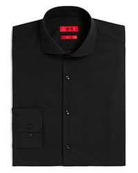 Hugo Jason Solid Slim Fit Dress Shirt Black