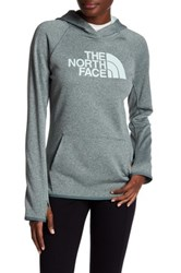 The North Face Logo Knit Hooded Pullover Green