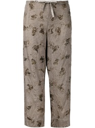 Dosa Loose Fit Trousers Grey