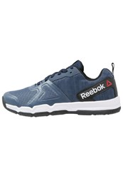 Reebok Powerhex Tr Sports Shoes Navy Slate Black White Dark Blue